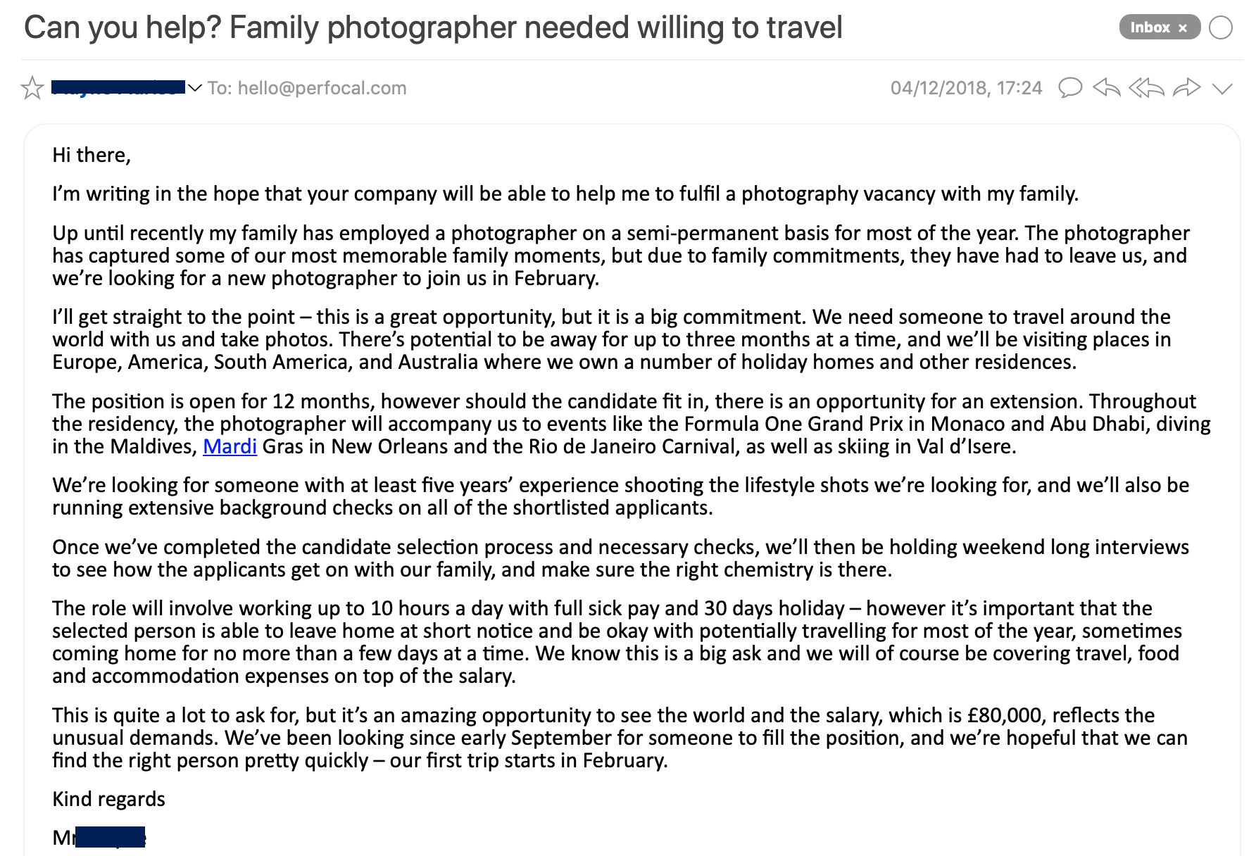 Fancy Making 80k A Year To Travel The World And Take Photos Well