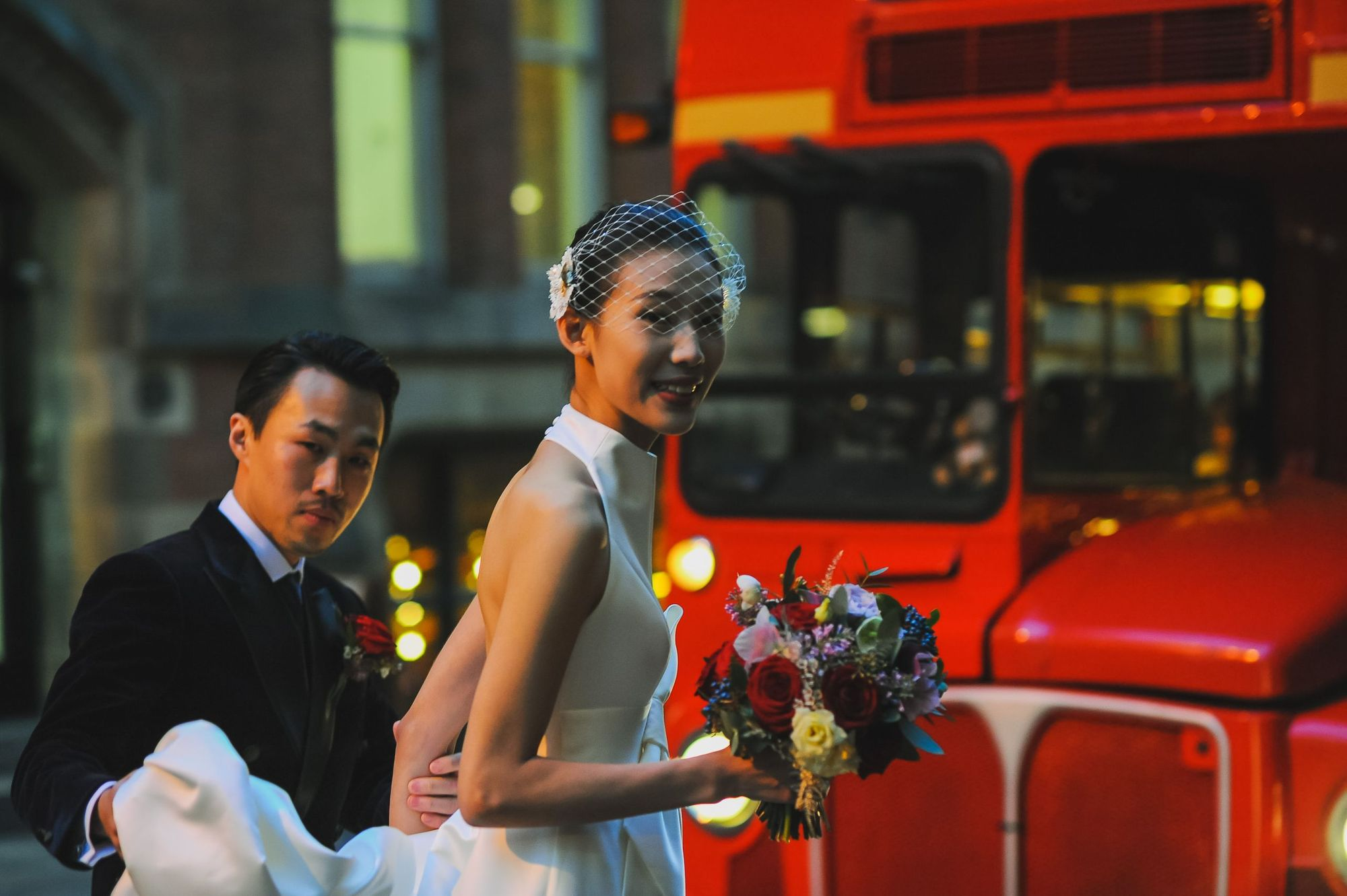 Huiyu and Jun's Wintery Manchester Wedding
